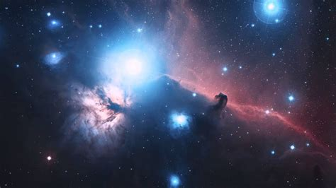Zooming in on the Horsehead Nebula (2D) - YouTube