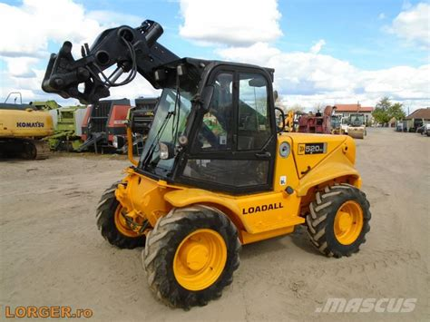Used JCB 520-50 telehandlers for agriculture Year: 2005