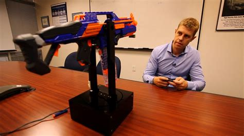 The Cypress Blaster: A PSoC BLE Controlled Nerf Gun Turret