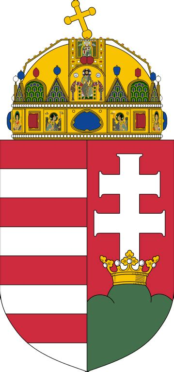 File:Coat of arms of Hungary (1915-1918, 1919-1946, 1990