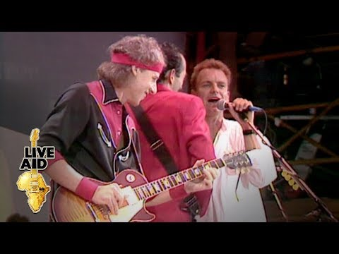 Eric Clapton at Live Aid: A Look Back