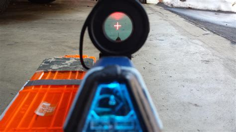 3D Printed Nerf Halo 5 Assault Rifle Takes Humans vs