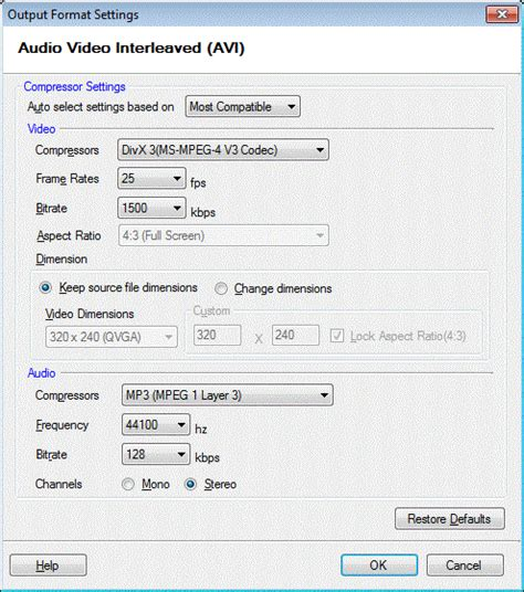 Reducing Video File Size