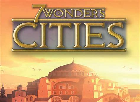 How to play 7 Wonders Cities | Official Rules