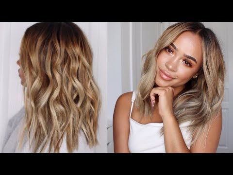 How To: Piecey Waves   How to curl your hair, Beach wave