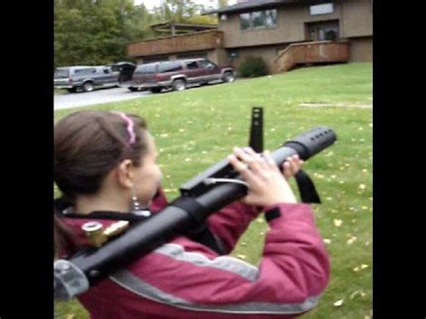 Panzerfaust nerf rocket launcher review - YouTube