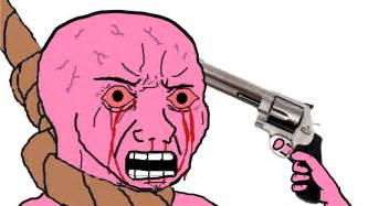 """Was Wojak always used to depict """"dumb"""" people/people the"""