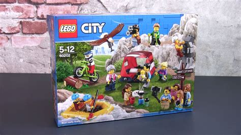 Overview of the LEGO 60202 People's Pack Outdoor Adventures