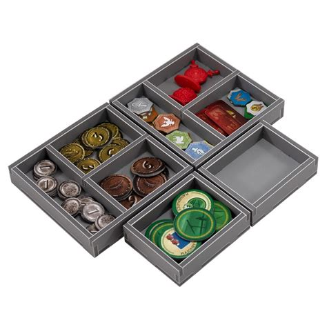 Folded Space Board Game Box Inserts - 7 Wonders and