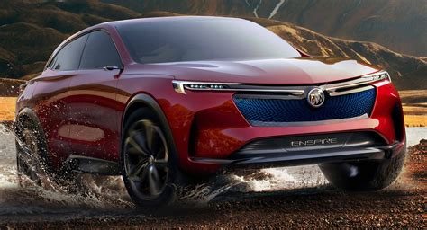 Buick Enspire Concept Unveiled As An Electric Crossover